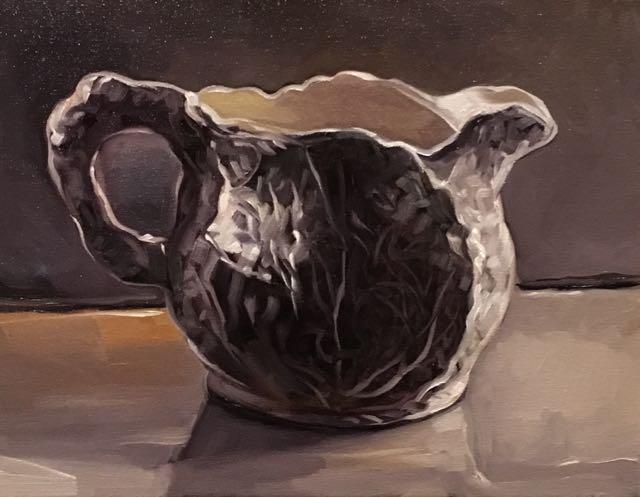 "Teapot 10 (oil) 11""x14"" $450"