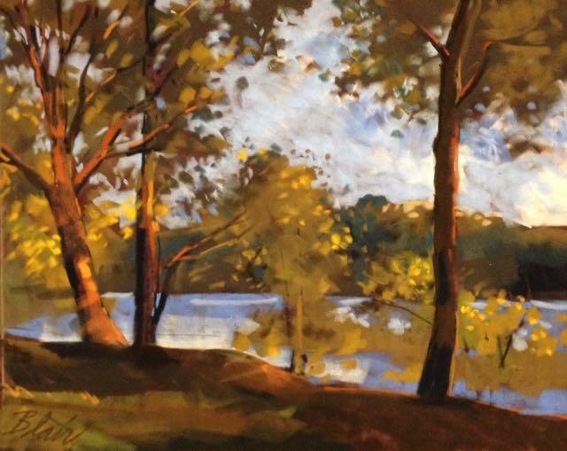 "Suwannee River (pastel) 15"" x 20"" $350"