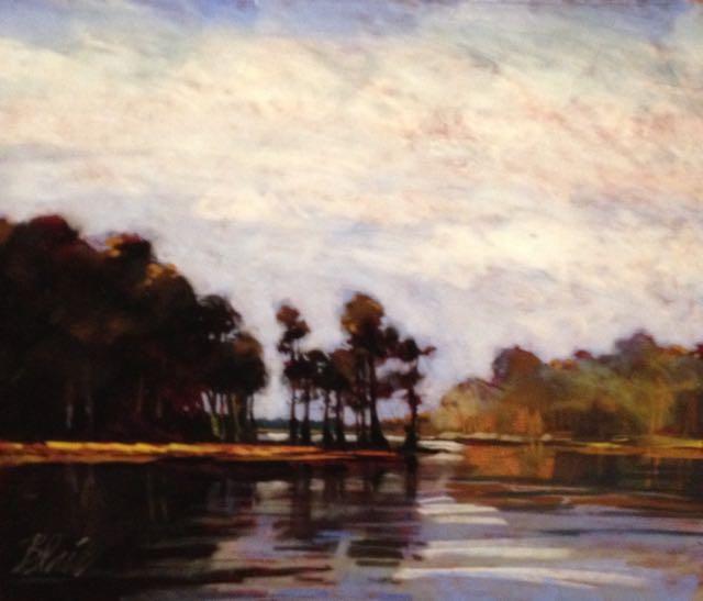 """Melrose Bay (pastel) 15"""" x 18"""" $475"""