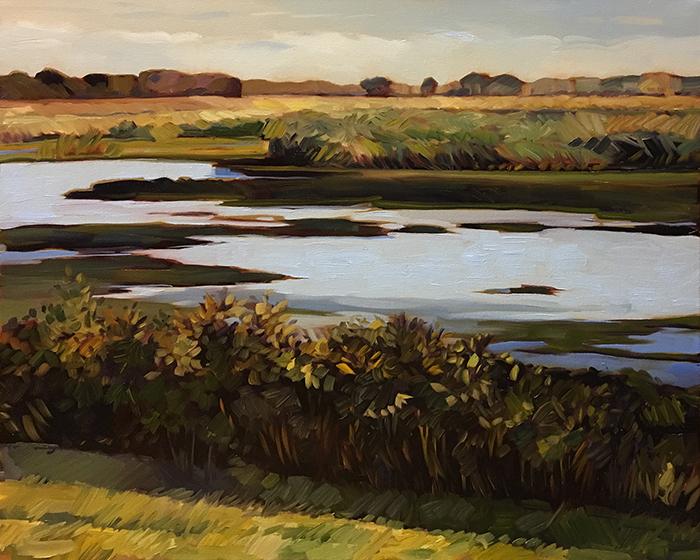 """Payne's Prairie (oil) 24""""x30"""" $950"""