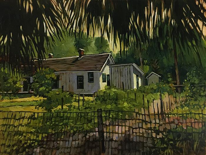 """Rawlings Garden in Cross Creek (oil) 18""""x24"""" $750"""