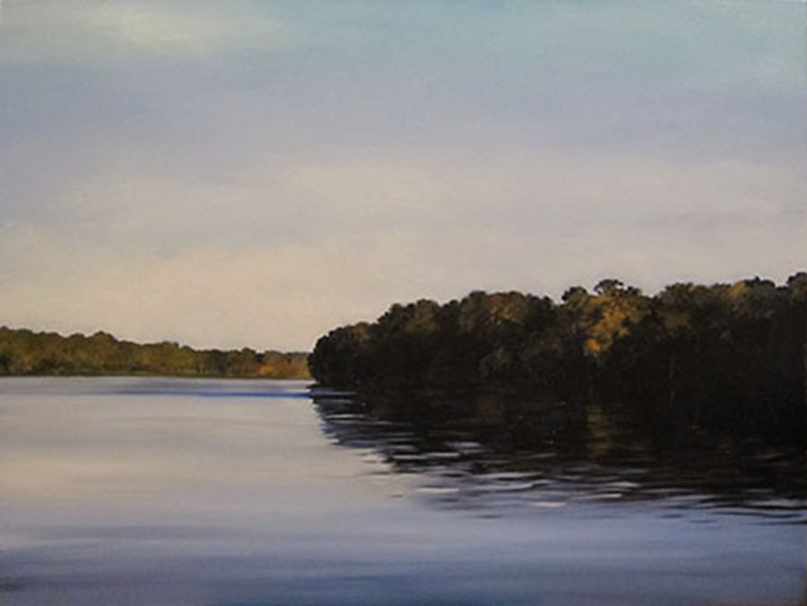"The Suwannee River (oil) 36"" x 48"" $2000"