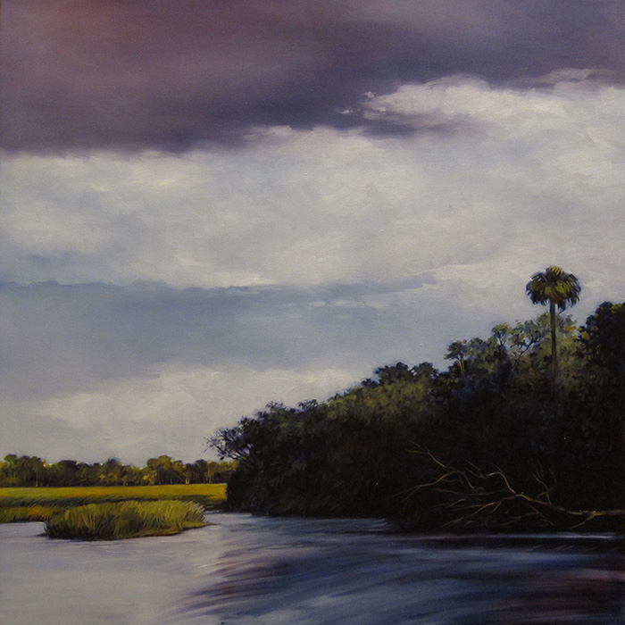 Withlacoochee River  (oil)  3' x 3'  $1500